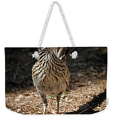 The Greater Roadrunner Walk  Weekender Tote Bag by Saija Lehtonen