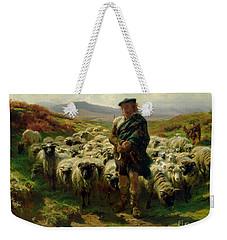 The Highland Shepherd Weekender Tote Bag by Rosa Bonheur