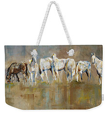 The Horizon Line Weekender Tote Bag by Frances Marino