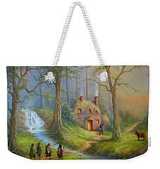 The House Of Tom Bombadil.  Weekender Tote Bag by Joe  Gilronan