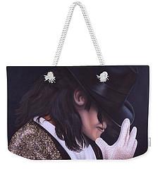 The King Of Pop Weekender Tote Bag by Darren Robinson