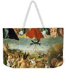 The Last Judgement Weekender Tote Bag by Jan II Provost