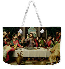 The Last Supper Weekender Tote Bag by Vicente Juan Macip