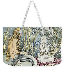 The Little Mermaid Weekender Tote Bag by Ivan Jakovlevich Bilibin