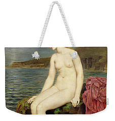 The Little Sea Maid  Weekender Tote Bag by Evelyn De Morgan