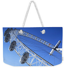 The London Eye, Close-up Weekender Tote Bag by Simon Kayne