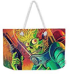 The Martian - Mars Attacks Weekender Tote Bag by Taylan Soyturk