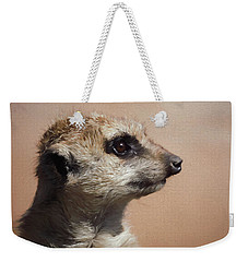 The Meerkat Da Weekender Tote Bag by Ernie Echols
