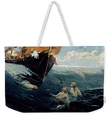 The Mermaid's Rock Weekender Tote Bag by Edward Matthew Hale