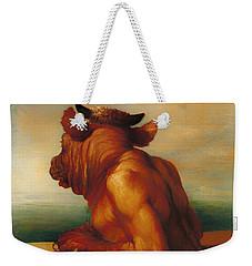 The Minotaur  Weekender Tote Bag by Mountain Dreams