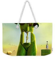 The Nightstand 2 Weekender Tote Bag by Mike McGlothlen