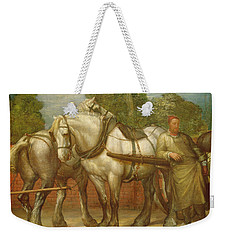The Noonday Rest  Weekender Tote Bag by George Frederick Watts