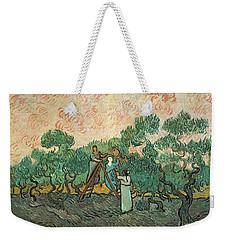 The Olive Pickers Weekender Tote Bag by Vincent van Gogh