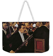 The Opera Orchestra Weekender Tote Bag by Edgar Degas