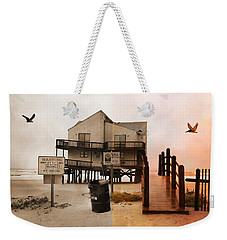 The Osprey And The Pelican Weekender Tote Bag by Betsy Knapp