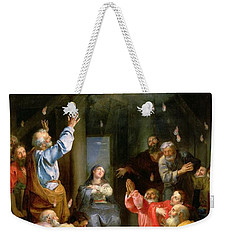 The Pentecost Weekender Tote Bag by Louis Galloche