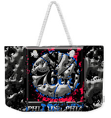 The Philadelphia 76ers Weekender Tote Bag by Brian Reaves