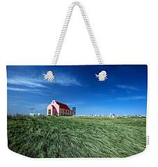 The Pink Church Weekender Tote Bag by Todd Klassy