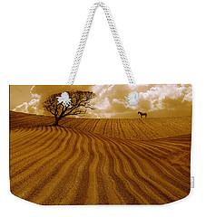 The Ploughed Field Weekender Tote Bag by Mal Bray
