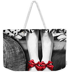 The Power Weekender Tote Bag by Patti Parish