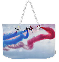 The Red Arrows Weekender Tote Bag by Stephen Smith