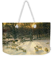 The Shortening Winters Day Is Near A Close Weekender Tote Bag by Joseph Farquharson