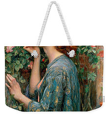 The Soul Of The Rose Weekender Tote Bag by John William Waterhouse