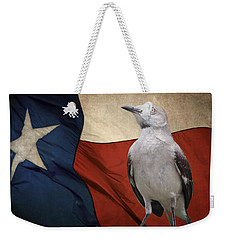 The State Bird Of Texas Weekender Tote Bag by David and Carol Kelly