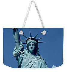 The Statue Of Liberty Weekender Tote Bag by American School