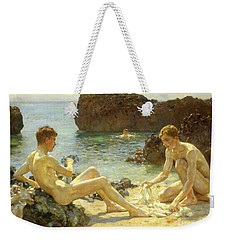 The Sun Bathers Weekender Tote Bag by Henry Scott Tuke