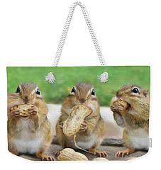 The Three Stooges Weekender Tote Bag by Lori Deiter