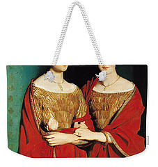 The Two Sisters Weekender Tote Bag by Theodore Chasseriau