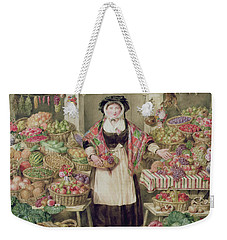 The Vegetable Stall  Weekender Tote Bag by Thomas Frank Heaphy