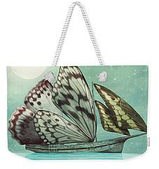 The Voyage Weekender Tote Bag by Eric Fan