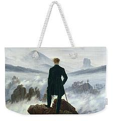 The Wanderer Above The Sea Of Fog Weekender Tote Bag by Caspar David Friedrich