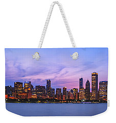The Windy City Weekender Tote Bag by Scott Norris