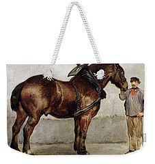 The Work Horse Weekender Tote Bag by Otto Bache