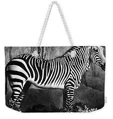 The Zebra Weekender Tote Bag by George Stubbs
