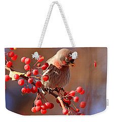These Berries Are Making Me Dizzy  Weekender Tote Bag by Donna Kennedy