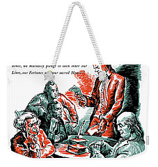 They Kept The Faith - Ww2 Weekender Tote Bag by War Is Hell Store
