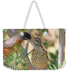 This Ones For You Weekender Tote Bag by Donna Kennedy
