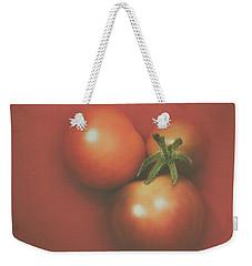 Three Cherry Tomatoes Weekender Tote Bag by Scott Norris