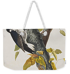 Three Toed Woodpecker Weekender Tote Bag by John James Audubon