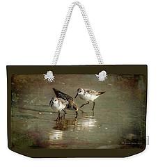 Three Together Weekender Tote Bag by Marvin Spates