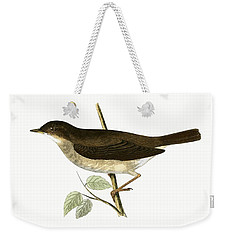 Thrush Nightingale Weekender Tote Bag by English School