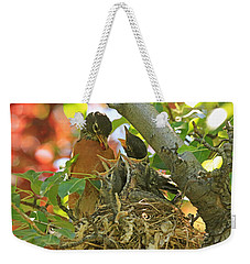 Time For Your Fruits Weekender Tote Bag by Donna Kennedy