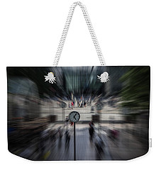 Time Traveller Weekender Tote Bag by Martin Newman