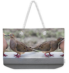 Together For Life Weekender Tote Bag by Betsy Knapp