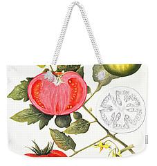 Tomatoes Weekender Tote Bag by Margaret Ann Eden