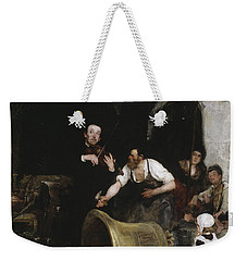Toning The Bell Weekender Tote Bag by Walter Shirlaw